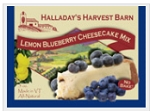 Halladay's Lemon Blueberry Farmhouse Cheesecake Mix