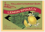 Halladay's Lemon Spinach Dip