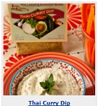 Halladay's Thai Curry & Ginger Herb Dip