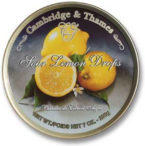 Cambridge & Thames Sour Lemon Drops