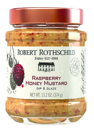Robert Rothschild Farm Lg Raspberry Honey Mustard Pretzel Dip