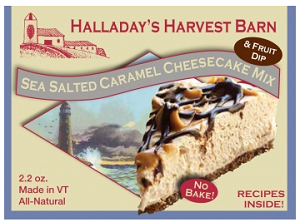 Halladay's Sea Salted Caramel Cheesecake Mix