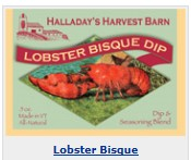 Halladay's Lobster Bisque Herb Dip