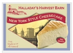 Halladay's New York Cheesecake Farmhouse Cheesecake Mix